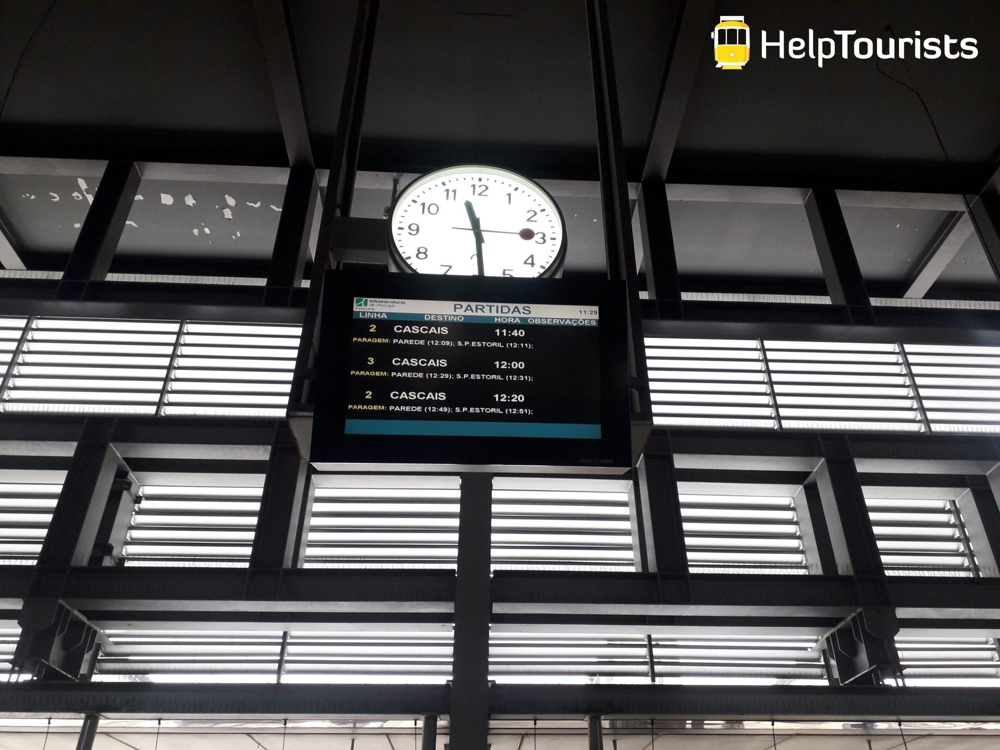 Lissabon Zug Cascais Fahrzeiten