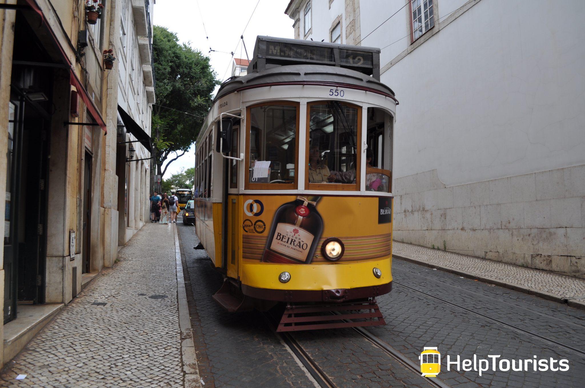 Lissabon Tram 12