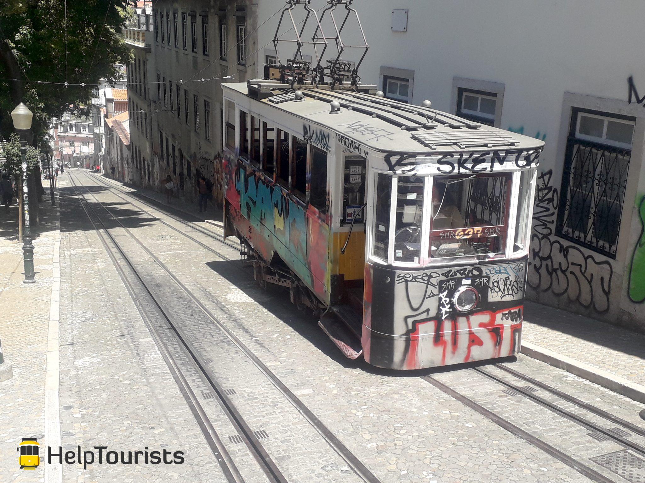 Lissabon Tram Bairro Alto