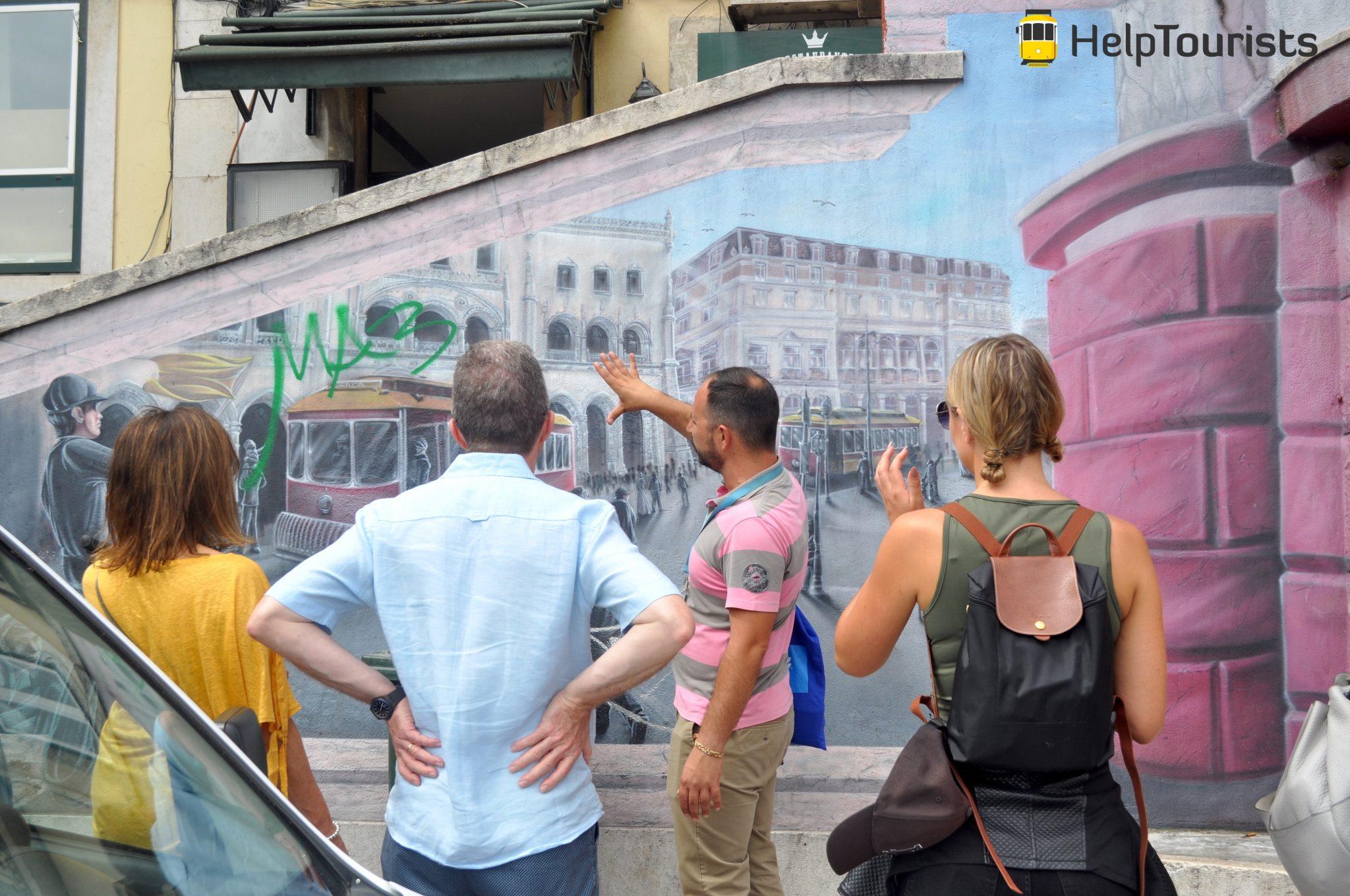 Lissabon Stadtführung Street Art