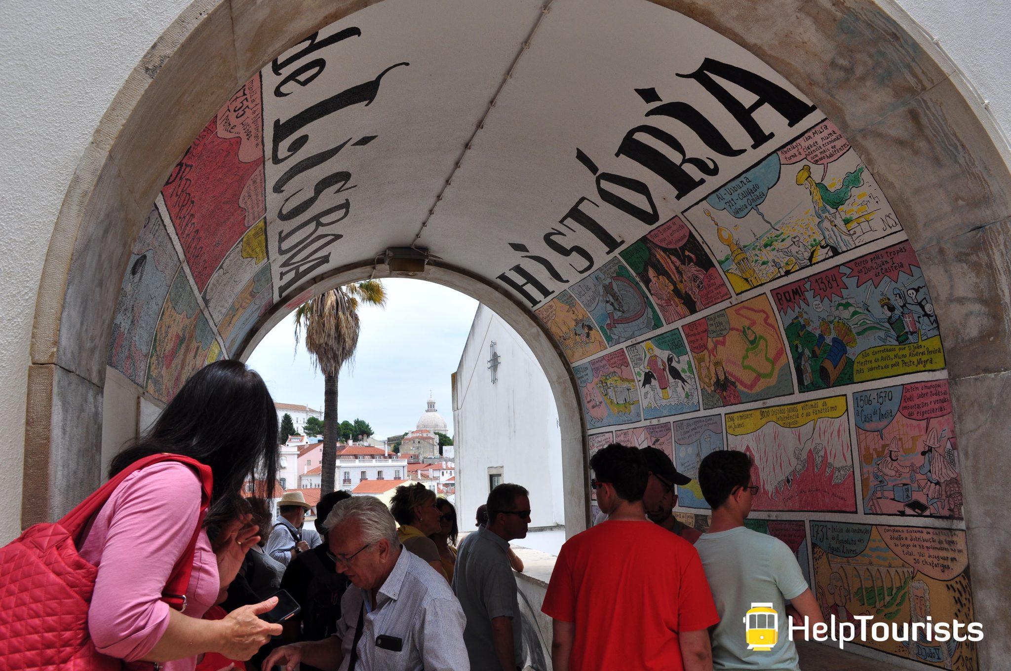 Lissabon Stadtführung Street Art Geschichte