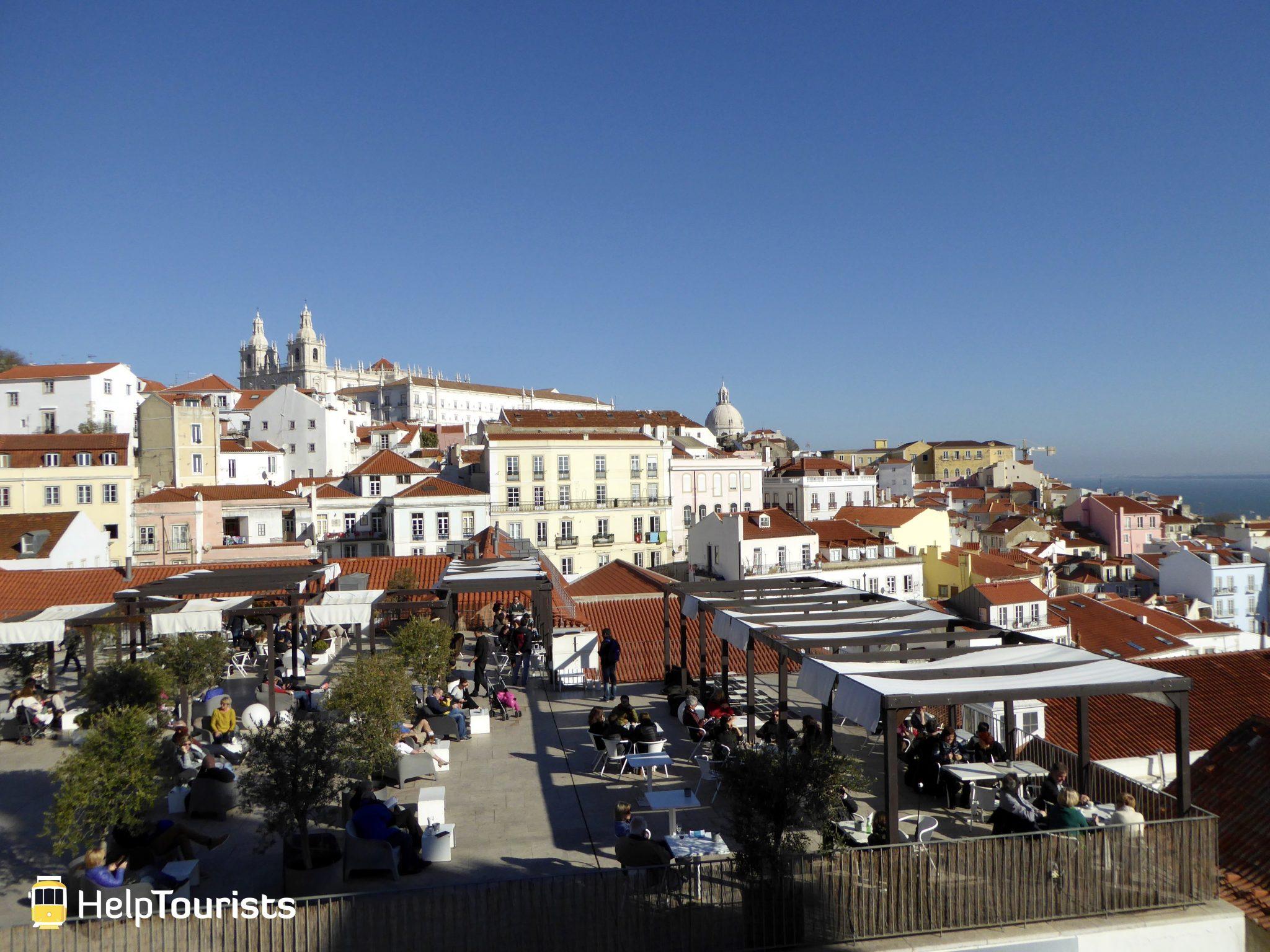 Lissabon Aussicht Estrela