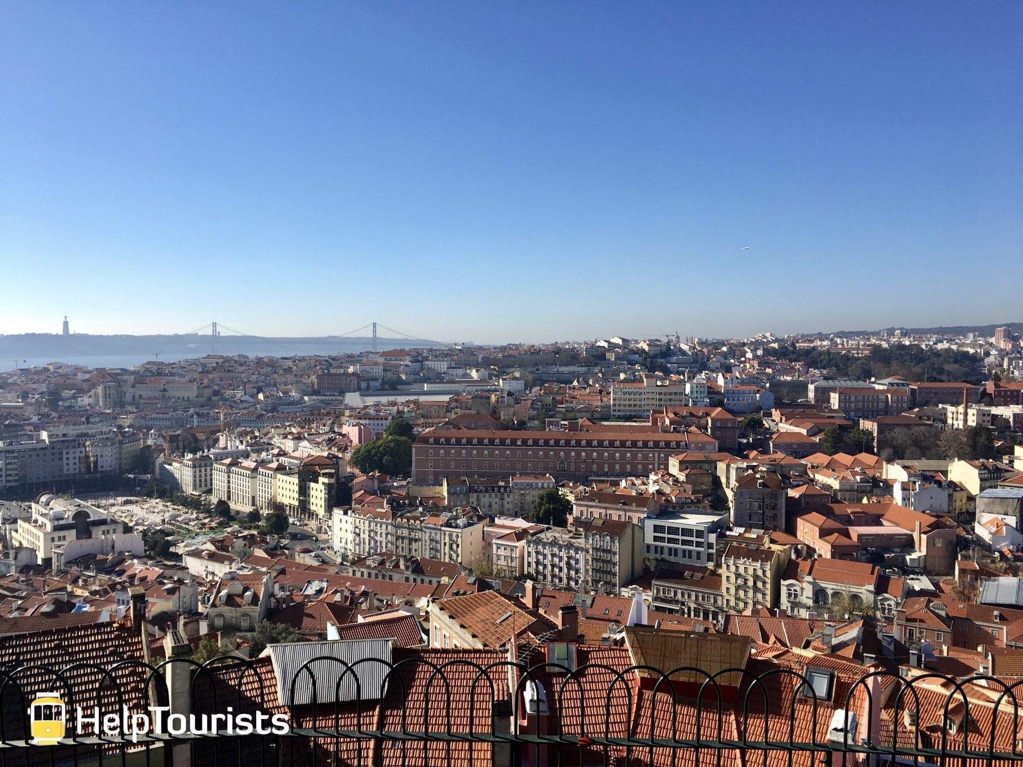 Lissabon Aussichtspunkt Graca