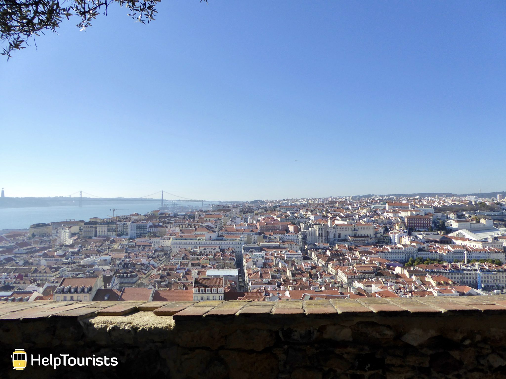 Lissabon Castelo Aussicht