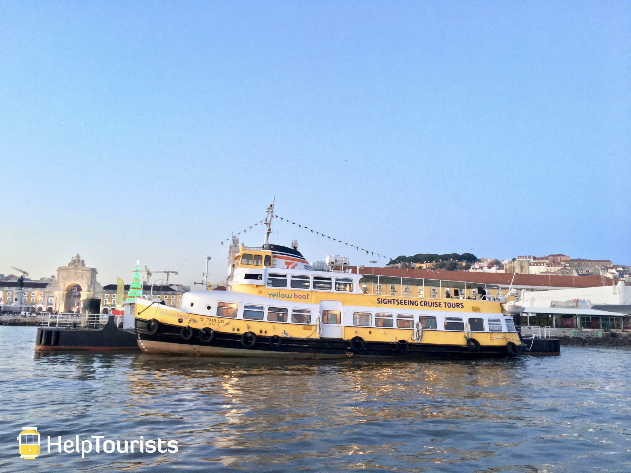 Lissabon Tejo Boote