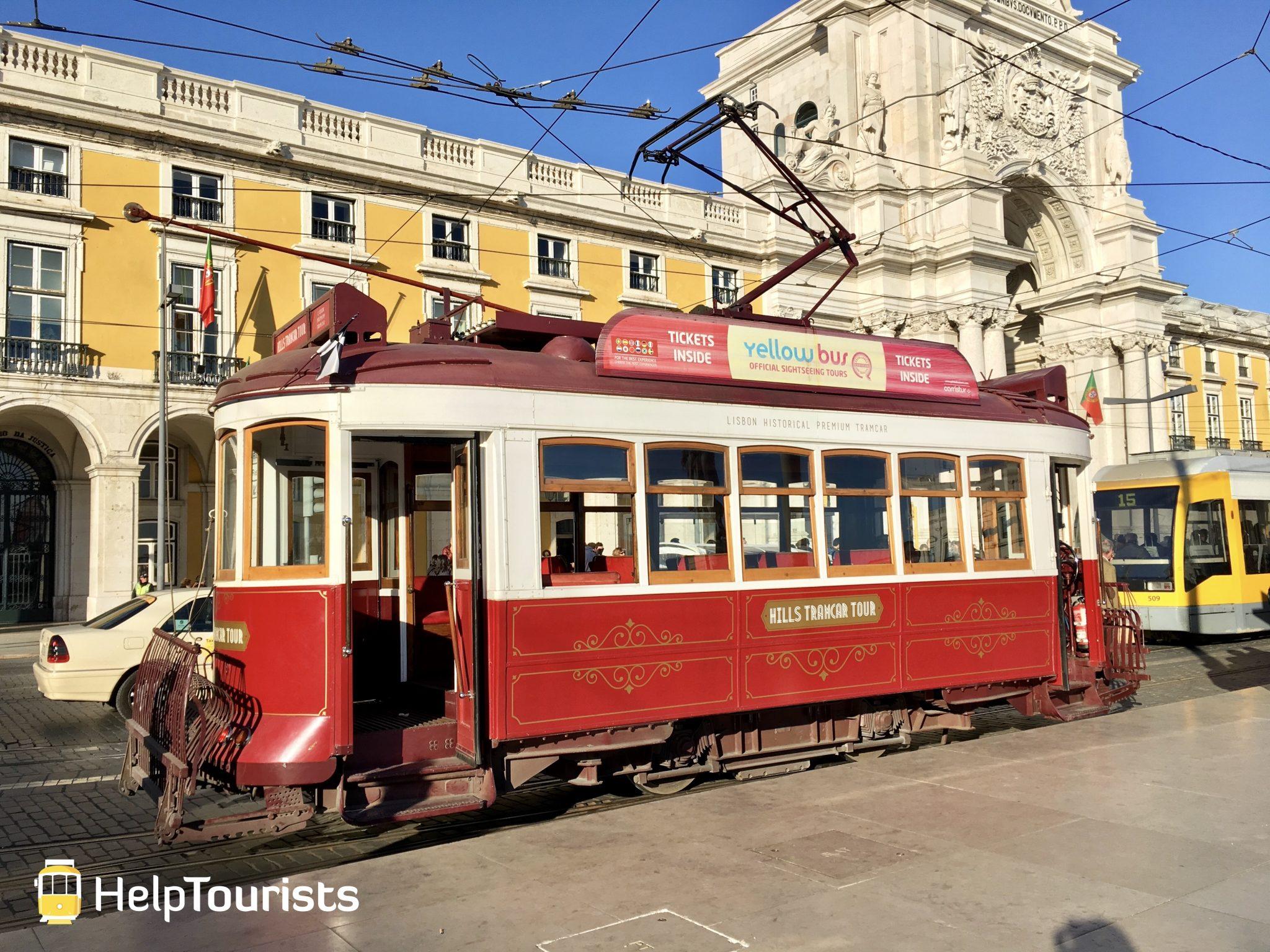 Lissabon Tram rot