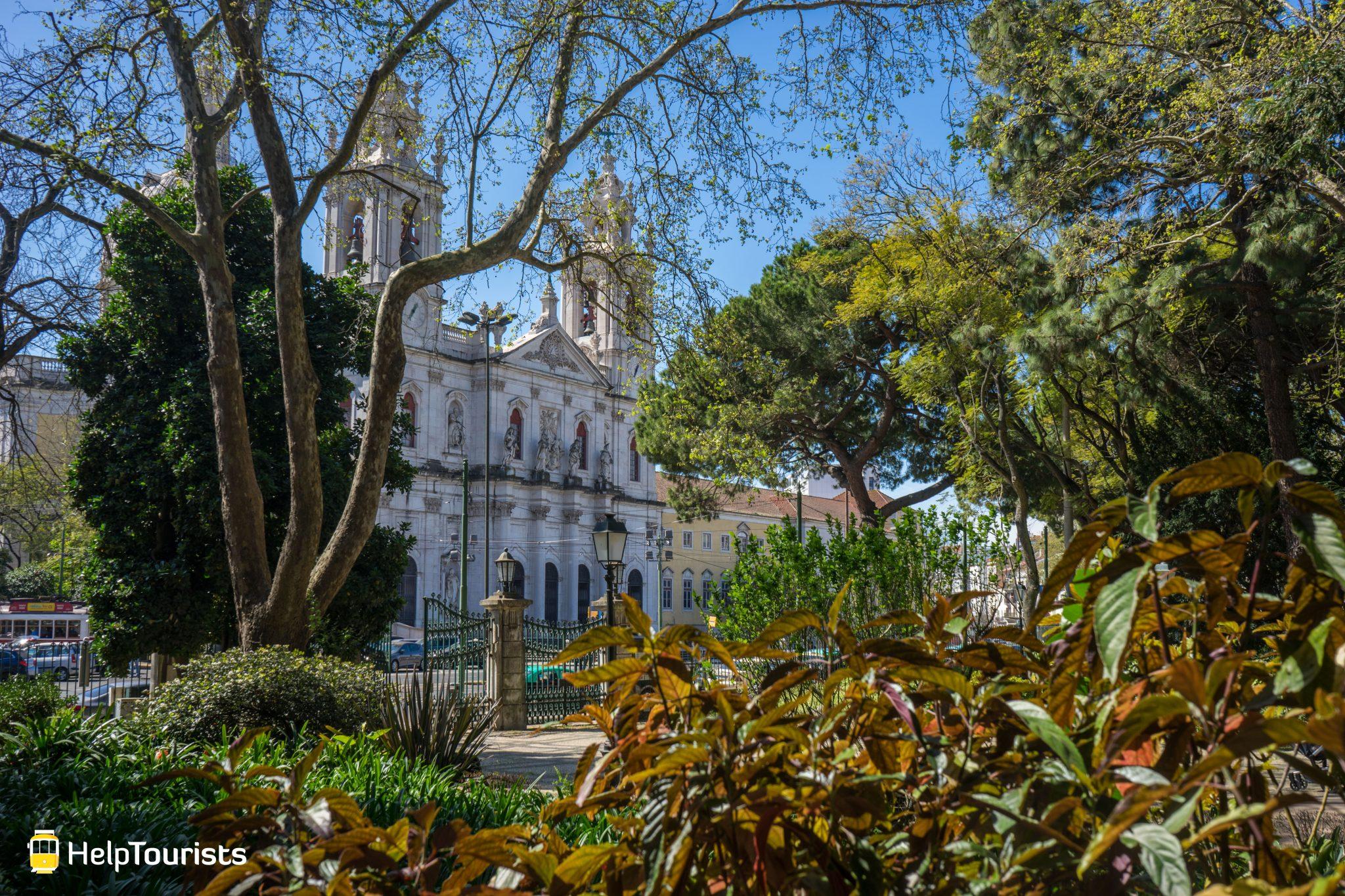 Lissabon_Basilica-da-Estrela_Fruehling