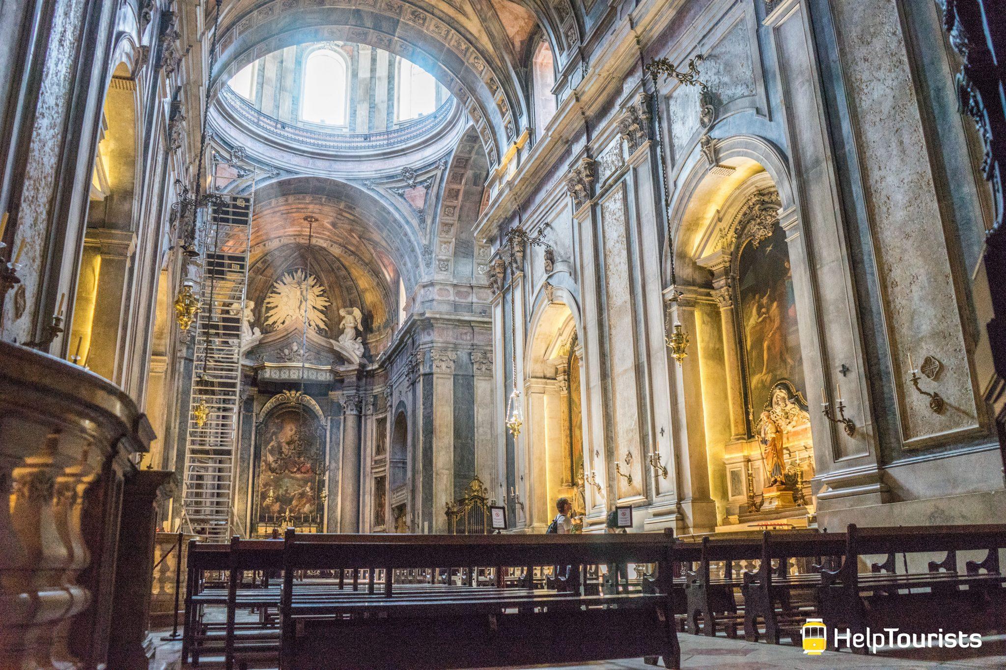 Lissabon_Basilica-da-Estrela_Innen