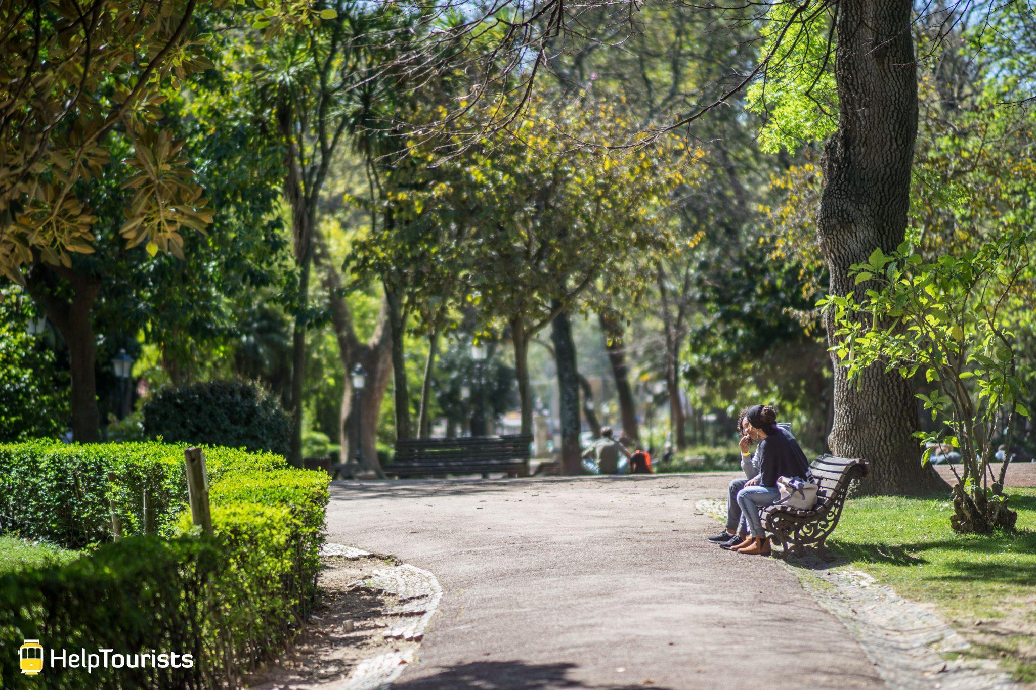 Lissabon_Jardim-da-Estrela_Parkbank
