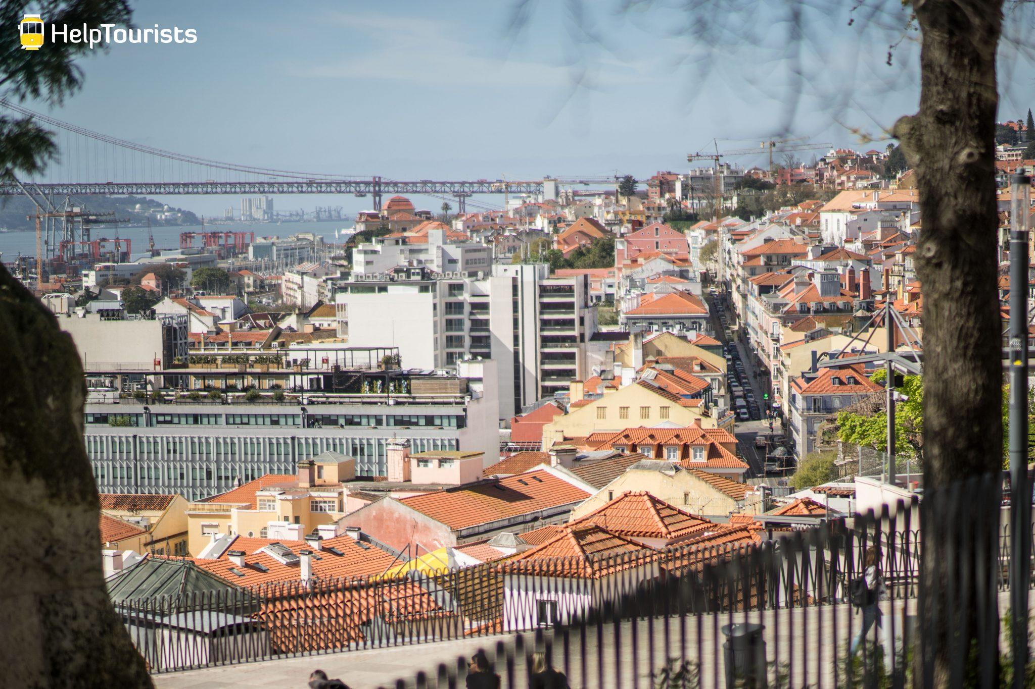 Lissabon_Miradouro-de-Santa-Catarina_Aussicht-Stadt