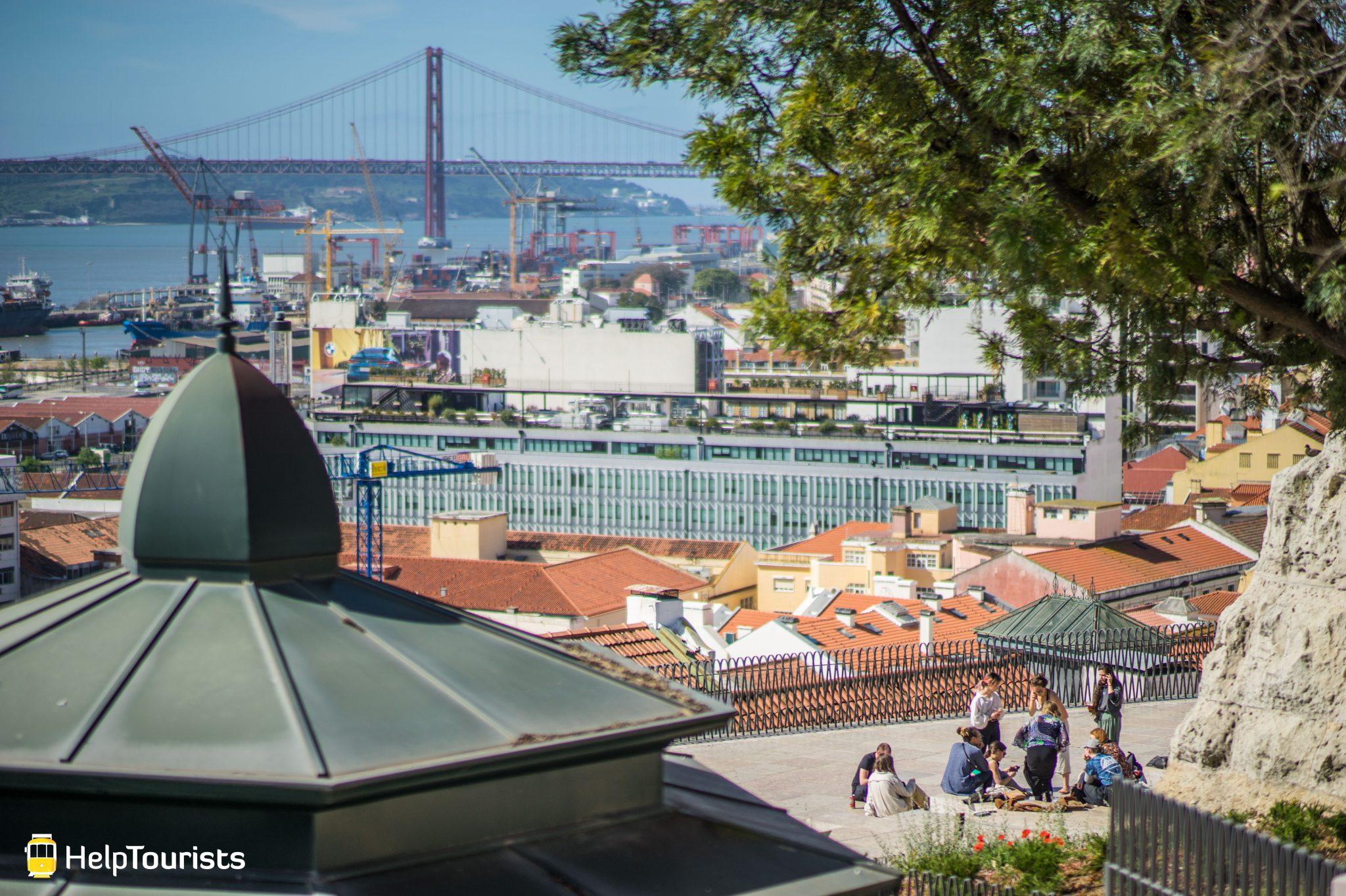Lissabon_Miradouro-de-Santa-Catarina_Aussicht_Ponte25deAbril