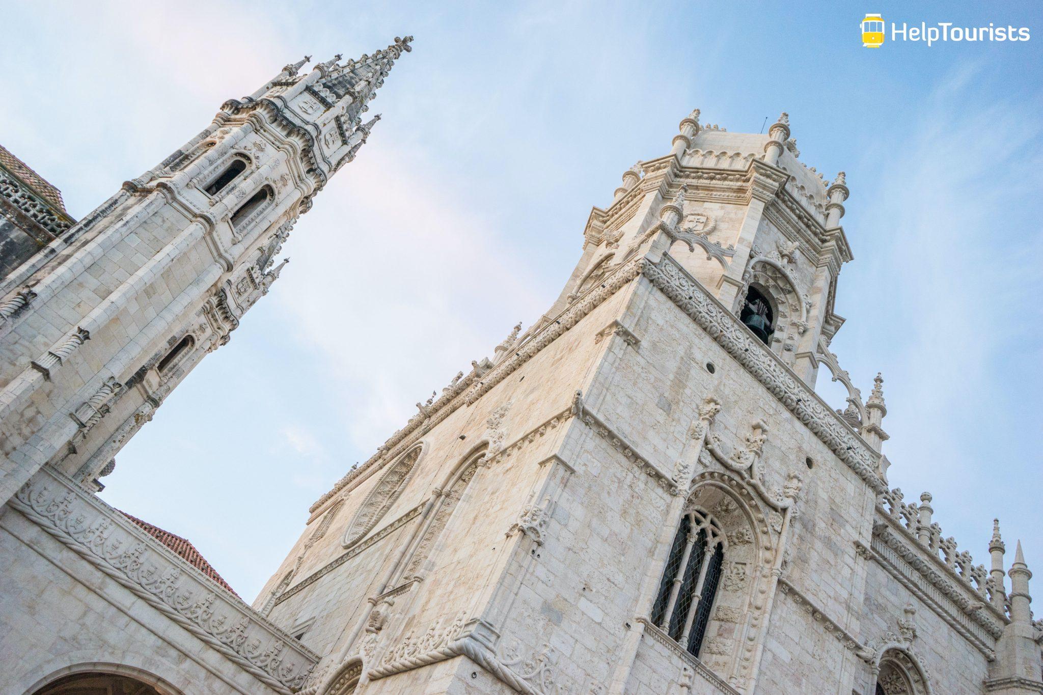 Lissabon_Mosteiro-dos-Jeronimos_Igreja-Santa-Maria-de-Belem_Turm