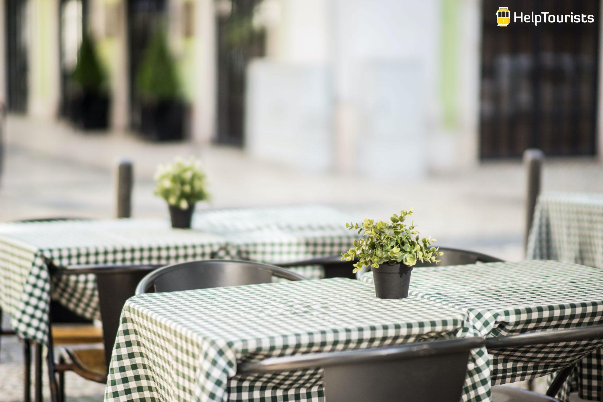 Lissabon_Restaurant_Tische